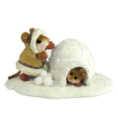 M-275b Crystal's Ice Palace – Wee Forest Folk Collectible   Wee Forest Folk Shop