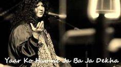 Download Yaar Ko Hamne Ja Ba Ja Dekha Abida Parveen MP3. Convert Yaar Ko Hamne Ja Ba Ja Dekha Abida Parveen Video to High Quality MP3 for free!