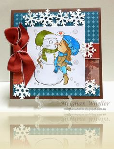P1010830_edited Snow Fun, Beautiful Handmade Cards, Color Card, Hand Coloring, Greeting Cards Handmade, Stampin Up, Christmas Cards, Paper Crafts, Frame