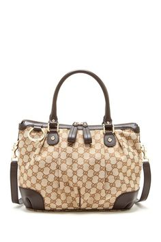 Gucci Canvas Logo Handbag by Non Specific on @HauteLook