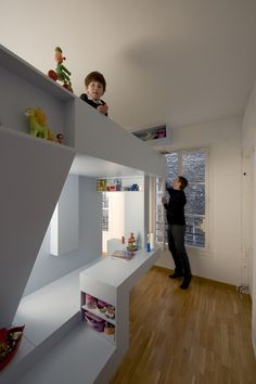 Cool Inspiration for Clever Kids Room Design from H2O Architects | Kidsomania