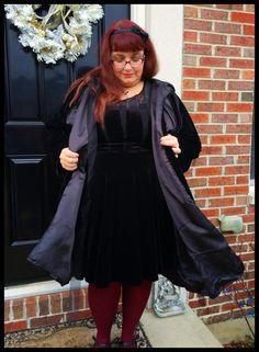 Velvet cloak
