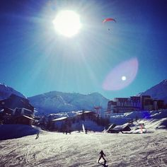 Instagram media by albirax -  #ski #laplagne #landscape #sky #happy #snow