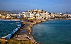 Naxos is the largest of the Cyclades archipelago.