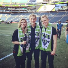 Derik Nelson;  Such an honor singing the national anthem at the Seattle Sounders FC match tonight!! It was televised nationally, WOW!