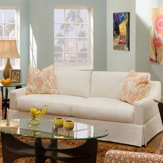 Bauhaus USA Finch Fabric Sofa