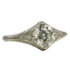 Old European Cut Diamond Filigree Ring Wedding Dreams, Dream Wedding, Diamond Rings, Diamond Cuts, Vintage Jewelry, Handmade Jewelry, European Cut Diamonds, Antique Engagement Rings, Filigree Ring