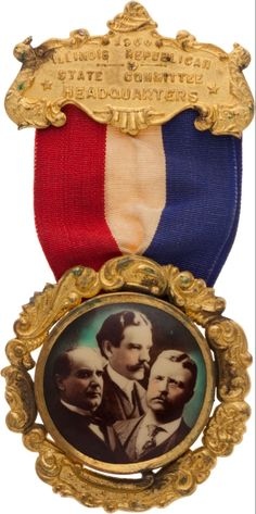 Theodore Roosevelt, Primitive Antiques, Historian, Badge, Auction, Frame, Vintage, House, Picture Frame