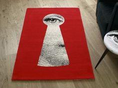 fornasetti key rug