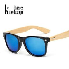 736d8a0cb7 Kaleidoscope Glasses Classic Wood Sunglasses for Men Women Vintage Bamboo  Sun glasses Women Retro Male Wooden