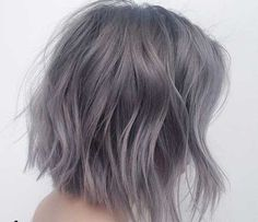 56 Ways To Cinch Rose Silver and Gold Hair - Hair Styles 2019 Hair Inspo, Hair Inspiration, Coloured Hair, Gold Hair, Silver Purple Hair, Purple Gray, Grunge Hair, Dream Hair, Gorgeous Hair
