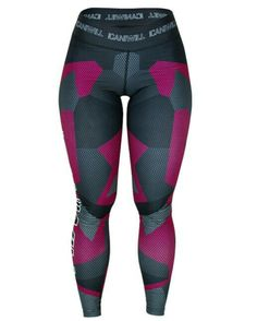 ICANIWILL tights (diffuze camo pink) Str L