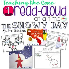 K-1 lesson plans, perfect for our wintertime favorite story. The Snowy Day by Ezra Jack Keats