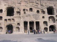 Grottes de Yungang Chine