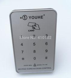125KHz RFID EM Proximity Card Door Access Control Silver Color