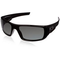 Oakley Sunglasses, Oakley ($140) ❤ liked on Polyvore featuring men's fashion, men's accessories, men's eyewear, men's sunglasses, oakley mens sunglasses and mens wrap around sunglasses