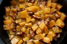 The cider underscores the rutabaga's inherent sweetness, making this a fine side for roast pork or chicken.
