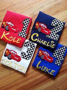 Rayo McQueen Cars Disney Pixar cualquier Color por GumballsOnline