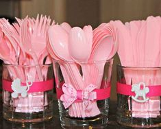Ideas Baby Shower Ideas For Girls Minnie Mouse Pink Cute Baby Shower Ideas, Baby Shower Favors, Baby Shower Cakes, Shower Gifts, Baby Shower Themes, Shower Party, Baby Cakes, Baby Shower Centerpieces, Baby Shower Decorations