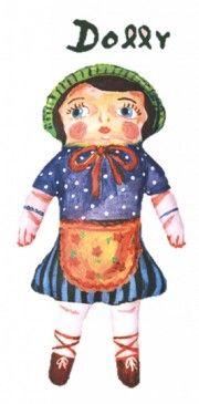Nathalie Lété - Softie 'Dolly' (cushion/soft toy)