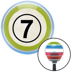 Black Ball 7 Stripe Shift Knob with M16 x 15 Insert - Give your interior the ultimate look. American Shifter's Elite(TM) series shift knobs are made from the highest quality components resulting in a superior feel on every shift. Each shift knob is designed and customized in the USA by skilled shift knob artisans who have a trained eye on every detail. American Shifters shift knobs offers an exclusive aluminum threaded insert designed to be screwed onto your shift arm. You should avoid shift…