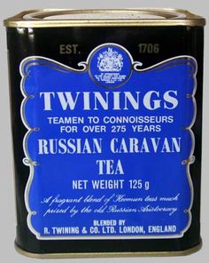 My favourite tea! Smoky and strong. Considered the espresso of teas.