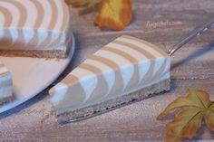 Tarta Cebra de Queso, Yogur y Dulce de Leche – Angechefs
