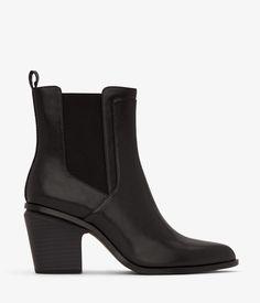 KALISTA - BLACK - boots - footwear