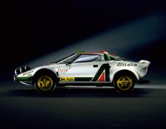 wingswheelsandspeed:  This is the Lancia Stratos. If you don't like this car then unfollow me because like