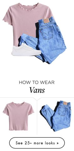 """""""I'm still screaming that I need you"""" by flowersgalore on Polyvore featuring Levi's and Vans"""