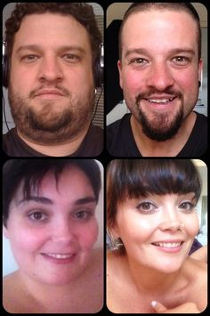 couple before and after