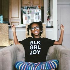 happy sunday! || #blackgirljoy x #whenyourmamamakesyouashirt