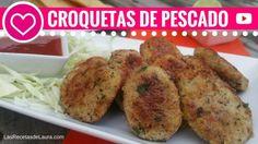 CROQUETAS DE ATUN | Recetas Fáciles   Fish Nuggets recipe | Las Recetas de Laura