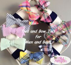 Preppy Neckwear and Belts for Men and Boys