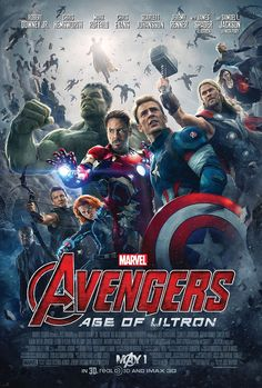 Avengers: Age of Ultron - NEW poster released Feb. 24, 2015