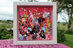 Lilac Flowers, Red Roses, Bird Artists, Irish Landscape, Irish Art, Summer Glow, Acrylic Art, Expressionism, Flower Vases
