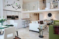 Open Plan Kitchen Interior   JHR Interiors