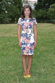 Agnieszka Sienkiewicz wearing Mohito floral dress
