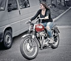 Girl on an old motorcycle: Post your pics! - Page 1120 - ADVrider