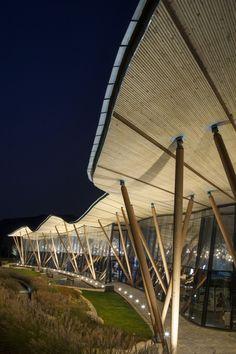 Vanke Tsing Tao Pearl Hill Visitor Center / Bohlin Cywinski Jackson