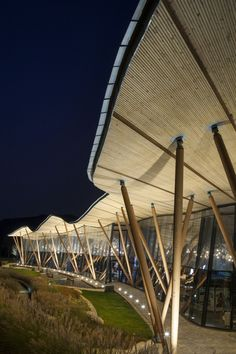 Centro para Visitantes en la Colina Tsing Tao Pearl by Bohlin Cywinski Jackson / Qingdao, China