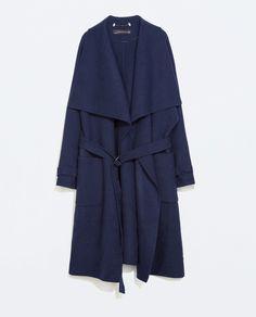 ZARA - WOMAN - HAND-MADE LONG COAT