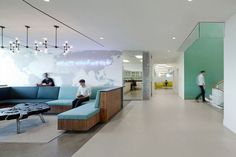 Hain Celestial headquarters by Architecture + Information & JBM Interior Design, Lake Success- New York | The VM Space