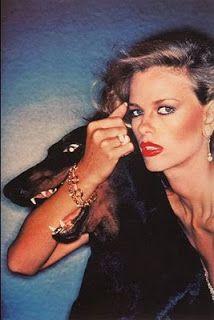 Lisa Taylor, Dior Ad, 1976, shot by Chris von Wangenheim.