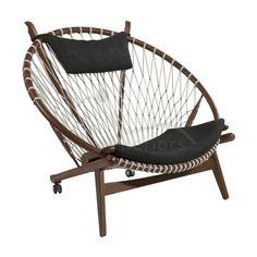 Buy Hans J Wegner Style Hoop Chair online at vita-interiors.com - Vita Interiors