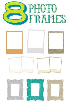 Free photo frames!