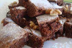 Pastelitos de chocolate Brownies.Ver Receta: http://www.mis-recetas.org/recetas/show/1513-pastelitos-de-chocolate-brownies