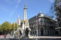 La fontana degli elefanti, il monumento più noto e fotografato di Chambery!!!