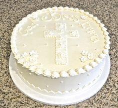 Elegant Christening Cake By Sugarland