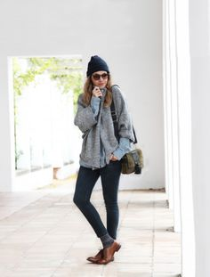 AS by DF SWEATER CAPE